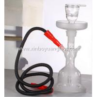Buy cheap Glass shisha hookah with leather case from wholesalers