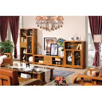 Buy cheap modern Zingana wooden comibined cabinet TV stand furniture from wholesalers