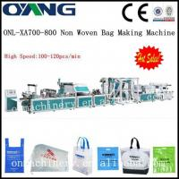Buy cheap High Speed CE Standard Automatic Non-woven Bag Making Machine / Equipment For Drawstring Bag from wholesalers