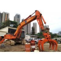 China High Speed Excavator Claw Attachment , Log Grapple Rotator Hitachi ZX450 Large Size on sale