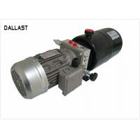 Buy cheap DC Horizontal 12V Hydraulic Power Pack with Steel Tank for Agricultural Machine from wholesalers