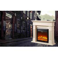 Buy cheap Customizable wood / Stainless Steel Modern Flames Electric Fireplace from wholesalers