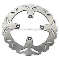 Buy cheap High Performance Motorcycle Brake Disc Heat Treatment Craft 256mm Outside Diameter from wholesalers