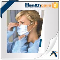 Buy cheap Non Woven Disposable Mouth Mask With Elastic Ear Loop For Dental Single Use from wholesalers