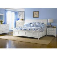 Buy cheap Girls Pure White Wood Hotel Bedroom Furniture Sets English Style from wholesalers