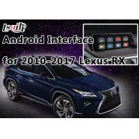 Buy cheap Android Navigation System Lexus Navigation Video Interface support to Play 4K HD Video , Rear Cameras from Wholesalers