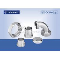 Buy cheap 3A Union Series Tri Clover Clamp / Stainless Steel Clamps CNC Surface from wholesalers