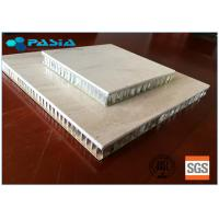 Buy cheap Natural Large Size Honeycomb Stone Panels , Marble Composite Panels With Edge Folded from wholesalers