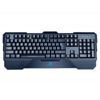 China AULA SI-861 Rubber Membrane Keyboard Good Feeling Touch , Wired Backlit Keyboard on sale