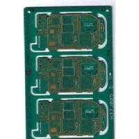 Buy cheap 2.0mm Green Immersion Gold HAL Pb Free FR4 Rigid Single Sided PCB Board from wholesalers