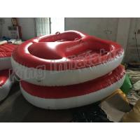 Buy cheap Screen Printing Inflatable Water Toy , 4m Diameter 2 Seats PVC Inflatable Boat from wholesalers