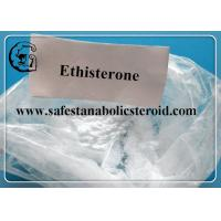 Buy cheap Ethisterone CAS 434-03-7 Progestogen Steroid Hormones For the androgen receptor from wholesalers