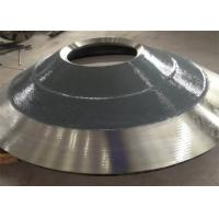 Buy cheap Mining Machinery Cone Crusher Components , Standard Grade Cone Crusher Concave from wholesalers