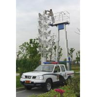 Buy cheap Double Mast Mobile Construction Aerial Work Platform 9 Meters 200Kg Truck - Mounted Type from wholesalers