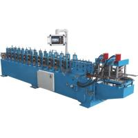 Buy cheap 3 Ton Manual Decoiler PU Shutter Roll Forming Machine For Roller Shutter Door Slats from wholesalers