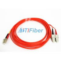 Buy cheap OM2 Fibre Optic Patch Leads / SC - LC Patch Cord Telecommunication from wholesalers