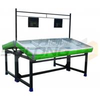 Buy cheap Plastic Metal Material Fruit Vegetable Display Rack Corrosion Protection from wholesalers