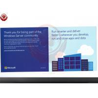 Full Version 2016 Windows Server Operating System Standard Retail Box
