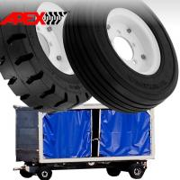 China APEX Airport Ground Support Equipment Tire for 8, 9, 10, 12, 15 inch GSE Tyre on sale