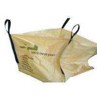 Buy cheap Customized 1000kg PP Woven Jumbo Bags Filling Spout Top / Full Open Top Available from wholesalers