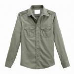 Buy cheap Bush shirt, long sleeved from wholesalers