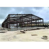 Buy cheap Prefabricated Industrial Metal Factory Building Steel Structure Warehouse from wholesalers
