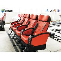 Buy cheap Soundproof Genuine Leather + PU 4D Movie Theater , Cinema Hall 4DM Motion Chair product