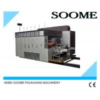 Buy cheap High Precision Automatic Flexo Printing And Die Cutting Machine With PLC Controlled from wholesalers