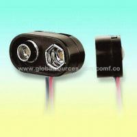 Buy cheap E-Type Safety Battery Snap Suitable for One 9V Cell, Rigid Cover with Cylindrial Terminal Rivet from wholesalers