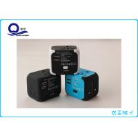 China Mini Multi Port Universal Power Adapter European Travel Voltage Converter on sale