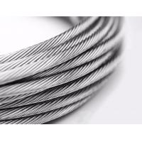 Buy cheap 1x7 Stainless Steel Stranded Wire AISI Standard For Balustrades Or Standing Rigging from wholesalers