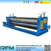 Buy cheap Corrugated Roofing Color Steel Roll Forming Machine 4kw Motor Power from wholesalers