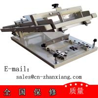 Buy cheap Manual screen printing press Small curved surface screen printers from wholesalers