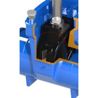 Buy cheap EPDM / NBR Rubber Wedge Flapper Valve Seat , Resilient Seated Gate Butterfly Valve Seat product