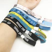 Buy cheap Custom colorful plastic sliding lock clasp for fabric wristband from wholesalers