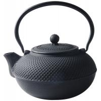 Buy cheap Black Hobnail Cast Iron Teapot , 900ml Chinese Cast Iron Tea Set from wholesalers