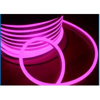 Buy cheap Led Pink Neon Tube Light , IP65 Waterproof SMD2835 LED Neon Rope Light Flex Tube from wholesalers