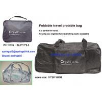 Buy cheap Foldable travel luggage bag, fodlable travel bag, folding handbags product