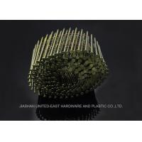 "Buy cheap High Strength 2-1 / 2"" Galvanized Roofing Coil Nails Q195 Q235 Coil Framing Nails Rust Proof from wholesalers"