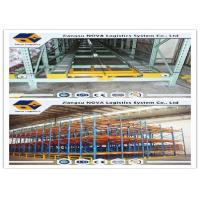 Buy cheap Pre Galvanized Forklift Working Gravity Flow Racking , Heavy Duty Gravity Shelving from wholesalers