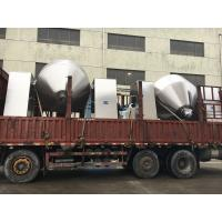 Buy cheap Double cone rotary vacuum dryer meet with GMP , conical vacuum dryer easy work and clean from wholesalers