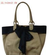 Buy cheap Canvas Handbag with Ribbon as Decoration from wholesalers