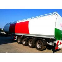 Buy cheap 4 Axle 60K Liter Diesel Tank Semi Trailer With First Axle Lifting Aire Bag Spring from wholesalers