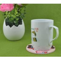 Buy cheap Lovely Girl 2d/3d Silicone Cup Coaster / Heat Resistant Table Placemat For Promotion Gift from wholesalers