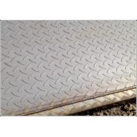 Buy cheap Q235 SS400 A36 Anti Slip Carbon Steel Chequered Plate with  Hot Rolled Craft from wholesalers
