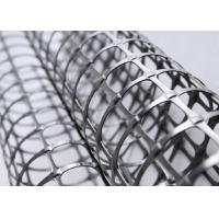 Buy cheap Biaxial Geogrid Reinforcing Fabric Square Network For Railways Construction from wholesalers