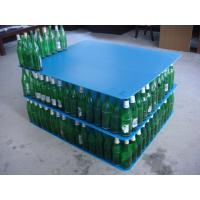 Buy cheap 1100x1100 3mm corflute layer pad pallet divider for glass bottle from wholesalers
