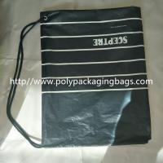 Buy cheap Waterproof Single Drawstring Shoulder Bag With Color Printing Logo / Clothing Backpack Bag from wholesalers