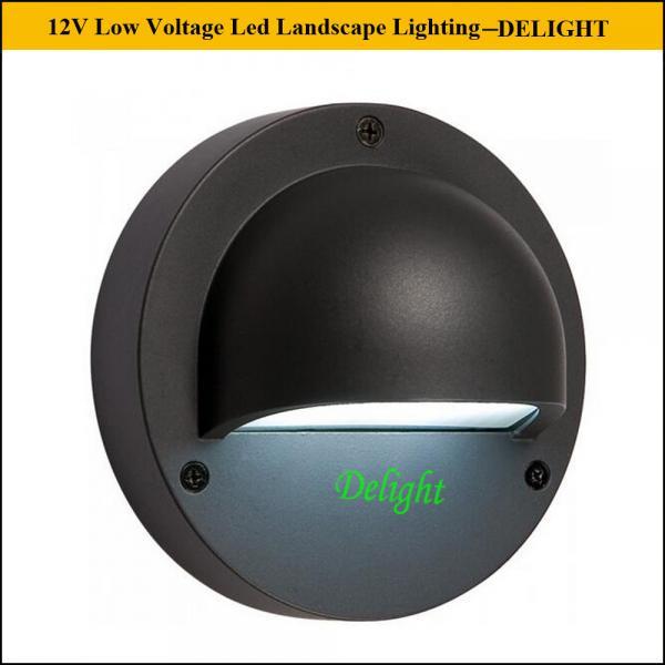 Low Voltage Recessed Lighting Vs Led : V led deck light low voltage step and column