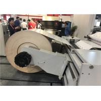 Buy cheap Reel Style Paper Roll Cutting Machine , Hamburger Box Commercial Die Cutter With Stripper from wholesalers